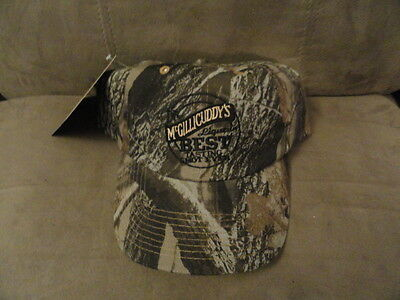 Dr McGillicuddy's Best Tasting Shot Ever Camouflage Hat Black Logo -Doctor cap