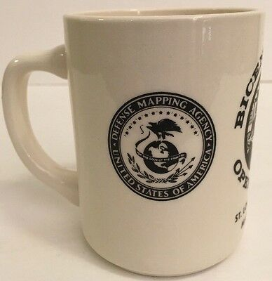 mug cup defense mapping agency bicentennial st louis usa america military 1976