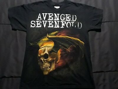 Avenged Sevenfold T Shirt Youth Large 14-16
