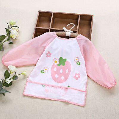 Kids/Children's Bib/Smock for Art,Craft,Painting,Drawing,Eating (Size/Age 1 to7)