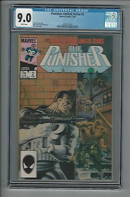 The Punisher Limited Series #2 CGC 9.0 VF/NM Marvel Comics