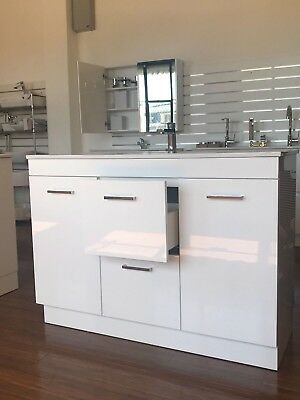 1200mm Bathroom Vanity Unit Base with Soft Close Directly from Manufactory