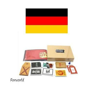 Secret Hitler-2018 Newest Cards Against Humanity Funny Party Adult Card Game WTT