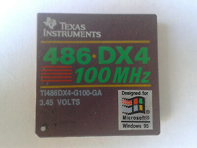 Texas Instrument 486DX4-100 CPU. TI 486DX4-G100_GA