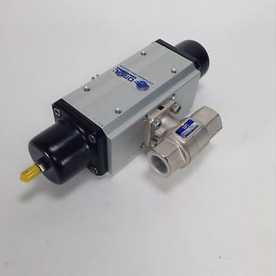 Omal SR015401S F03-F05 Pneumatic actor + 101 ball valve NEW NMP
