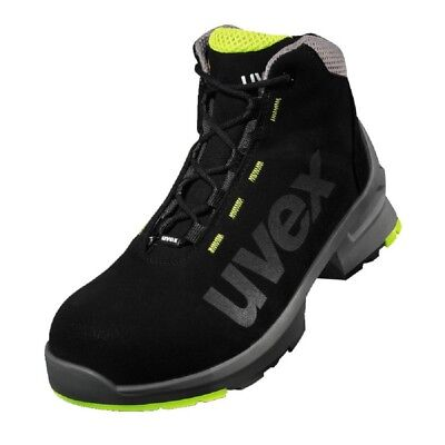 uvex Safety Boots S2 SRC 100% Metal-Free Airport Safe ESD Rated Microsuede Upper