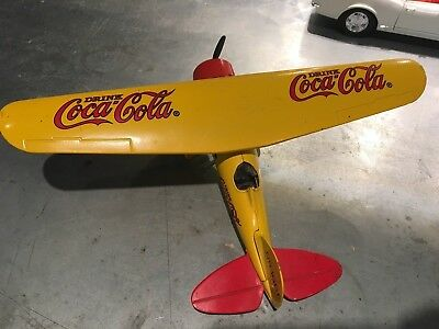 Coca Cola NR-1661 Toy Airplane Bank by ERTL Diecast