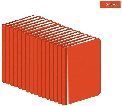 24-Pack Engineers Writing Pads Field Surveying Orange Book Office Supplies