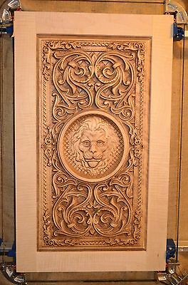 Solid wood Cabinet Door Carved Raised Panel. $72.99 PER SQ/FT