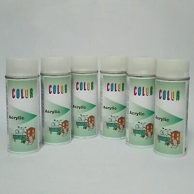 6 x 400ml Dupli Color Leuchtspray Light up Spray phosphoreszierend 572982