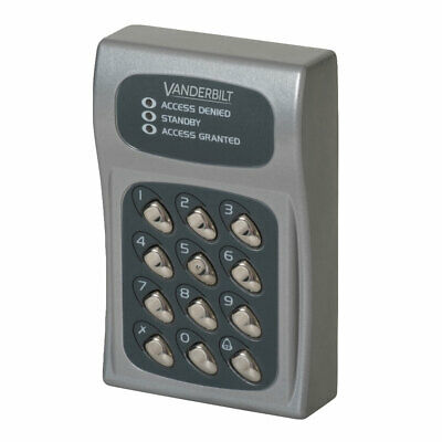 ACT 10 Electronic Keypad Grey (ACT10)