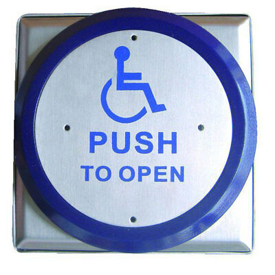 Asec Large Push Plate Exit Button (AS9870)