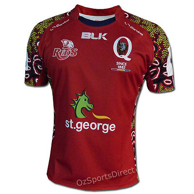 QLD Reds 2014 Indigenous Jersey  Size 2XL **SALE PRICE**