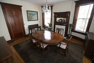 Mahogany Dining Set Alms and Doepke (PHOTO GALLERY LINK)