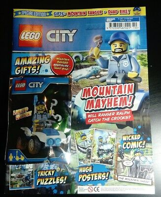 Lego City Magazine Special Edition Issue #5 February 2018 Free Mountain Ranger