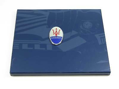 Rare Maserati MC12 Super Car VIP Hardcover Brochure Book in Slipcase 2005 MINT