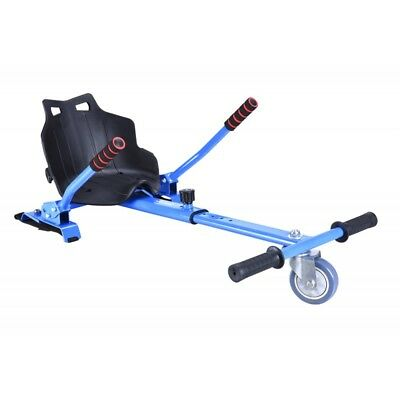 Kart para hoverboard silla asiento hoverseat patinete electrico hoverkart azul
