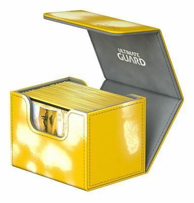 Ultimate Guard - Side Winder ChromiaSkin Deck Case 100+ Yellow Gaming Deck Case