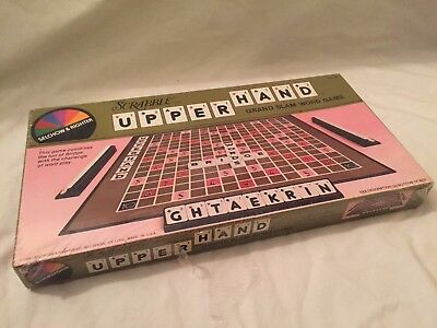 VINTAGE 1981 Scrabble UPPER HAND Factory Sealed Word Game NEW