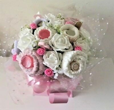 Baby Clothes Bouquet Baby Shower Christening Gift Handmade BOY