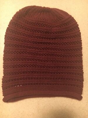CC Beanie New Womens Knit Slouchy Oversized Thick Cap Hat Unisex Slouch  Color 4b643019f6f9