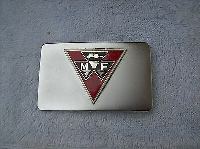 Massey Ferguson Farm Machinery Belt Buckle