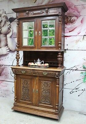 jugendstil buffet anrichte henry deux 2 gepflegter zustand. Black Bedroom Furniture Sets. Home Design Ideas