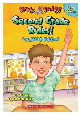 Ready, Freddy! 2nd Grade: Second Grade Rules! by Abby Klein NEW PB 2014 Ages 7-9