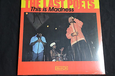 "The Last Poets This Is Madness 12"" vinyl LP New + Sealed"
