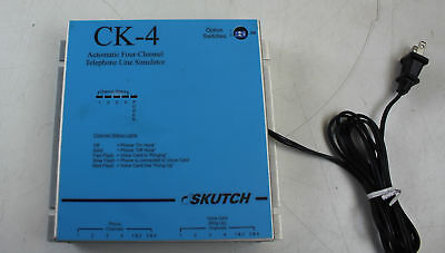 Skutch CK-4 Automatic 4 Channel Telephone Line Simulator