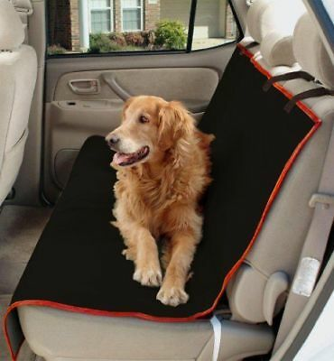 2 in 1 Cargo Cover Pet Dog Travel Hammock Red/Black For TOYOTA AURIS HYBRID