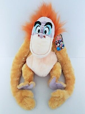 Disney Store Exclusive KING LOUIE PLUSH / SOFT TOY - Jungle Book Orangutan - 18""