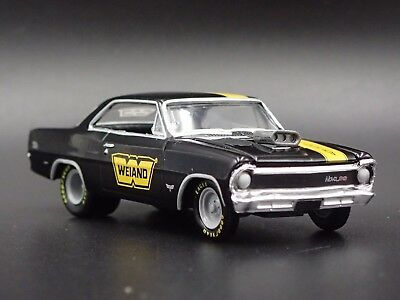 1967 Chevrolet Chevy Nova Ss Weiand 1:64 Collectible Diorama Diecast Model Car