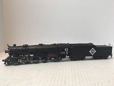 AHM RIVAROSSI HO SCALE 4-6-2 HEAVY PACIFIC LOCOMOTIVE  #2936 With Erie Tender