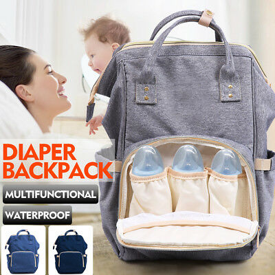 Maternity Nappy Diaper Bag Large Capacity Baby Bag Travel Backpack