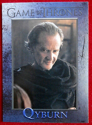 GAME OF THRONES - Season 6 - Card #71 - QYBURN - Rittenhouse 2017