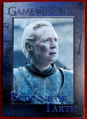 GAME OF THRONES - Season 6 - Card #49 - BRIENNE OF TARTH - Rittenhouse 2017