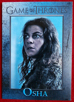 GAME OF THRONES - Season 6 - Card #89 - OSHA - Rittenhouse 2017