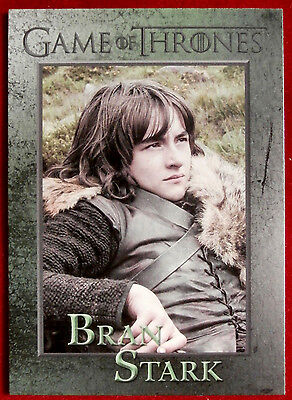 GAME OF THRONES - BRAN STARK - Season 3, Card #42 - Rittenhouse 2014