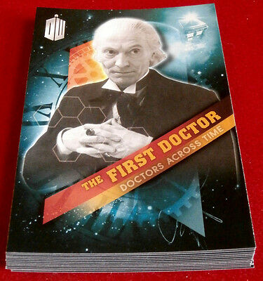 DOCTOR WHO TIMELESS - Doctors Across Time - COMPLETE CHASE SET - Topps 2009