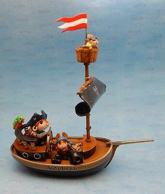 FINDING TREASURES by Wee Forest Folk, WFF# M-481z, Folktoberfest Pirate Ship