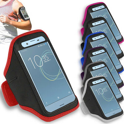 Prime Gym Sports Armband Running Jogging Arm Case For Sony Xperia XZ Premium