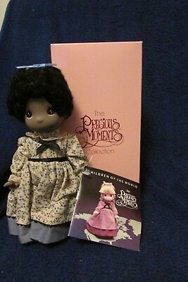 Precious Moments Children Of the World Doll - Mazie