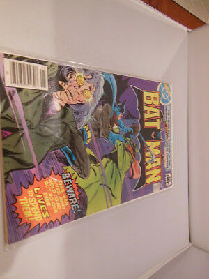 Batman #307 Key Issue 1st Appearance Lucious Fox Comic book DC comics tv