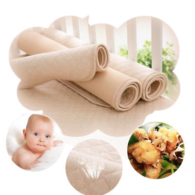 Changing Waterproof Diaper Pad Cotton Washable Infant Baby Urine Mat Nappy Bed
