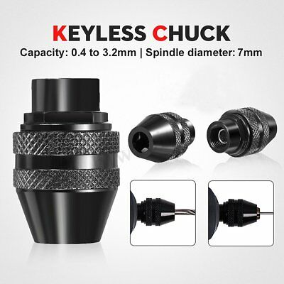7mm Multi Chuck Quick Change Adapter Drill Bit For Dremel Rotary Accessories Kit