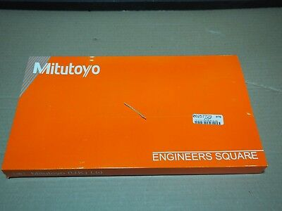 "Mitutoyo 10"" 10-1/2"" Precision Steel Engineer Square Grade B / 916-594 OEM USA"
