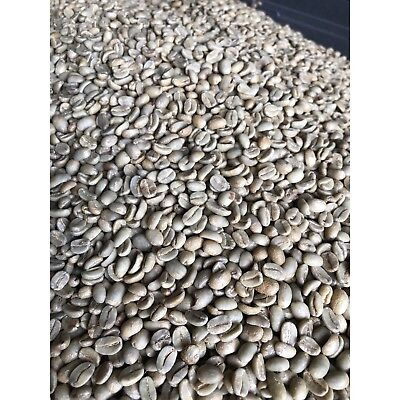 Raw Green Specialty Coffee Beans - Fairtrade ORGANIC PNG - Washed Process 2.5kg