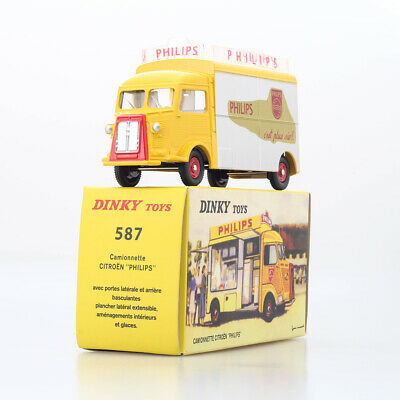 1:43 Dinky Toys 587 Atlas Camion Camionnette Citroen Tub Hy H Philips Car Model