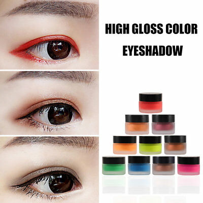 Professional Eye Shadow Eyes Makeup Glitter Party Cosmetic Eyeshadow Cream SS